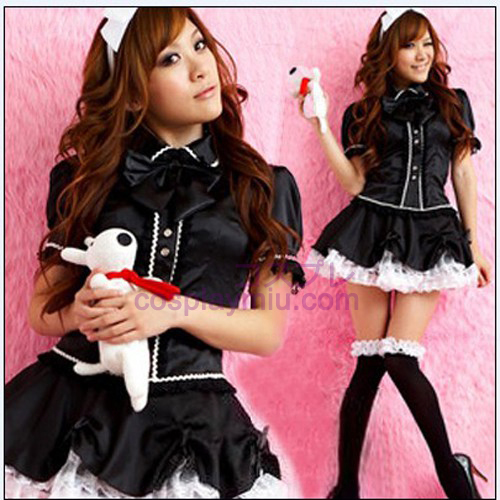 Lovely Maid Outfit Princess Skirt/Black Cosplay Costumes