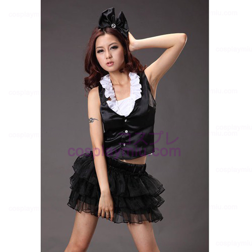Black Sexy Princess Dress Maid Costumes