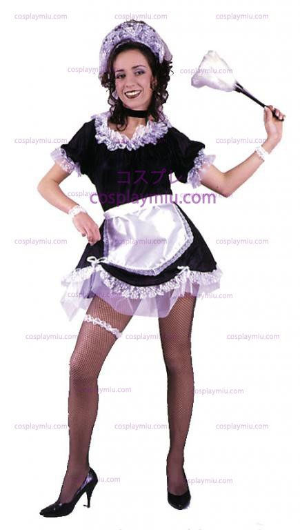 French Maid Adult Cosplay Costume