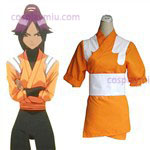 Bleach Yoruichi Shihouin Orange Cosplay cotume