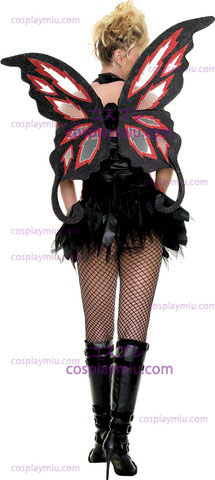 Wings Deluxe Fairy Fire Gothic Adult