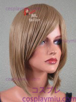 "15"" Ash Blonde Straight Cosplay Wig"