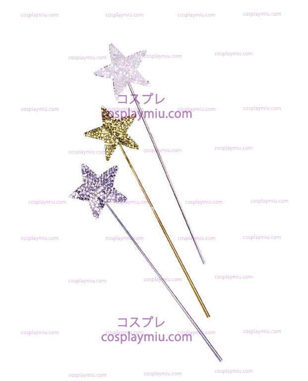 Sequin Wand: Silver, Gold, Pearl White