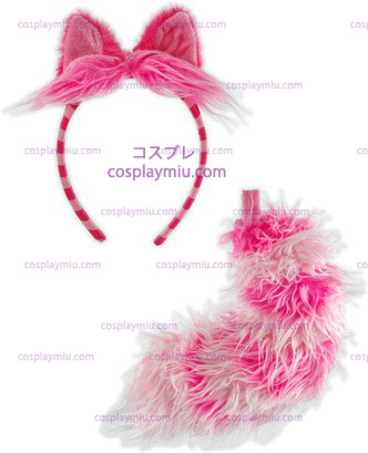 Chesire Cat Ear\/Tail Set