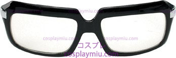 Glasses 80'S Scratcher Blk Clr