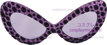 Glasses 5Th Ave Glitter Purple