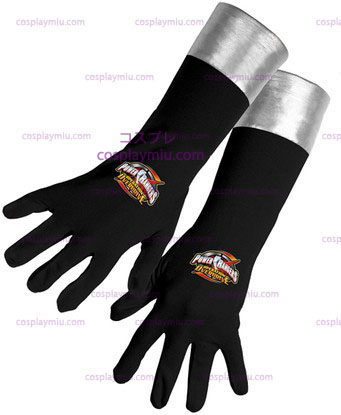 Power Ranger Black Gloves Od