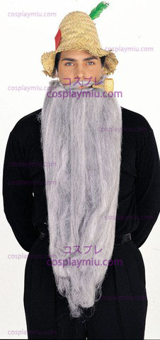 "Mohair 25"" Grey Beard"