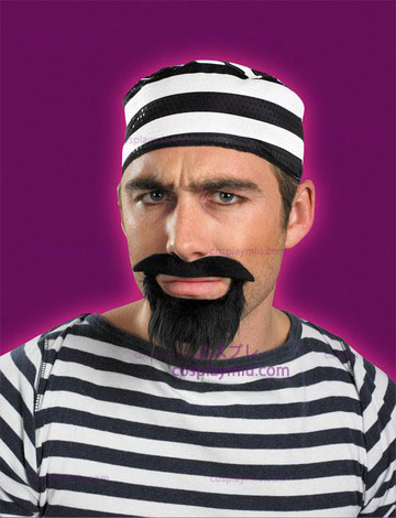 Moustache And Beard Prisoner