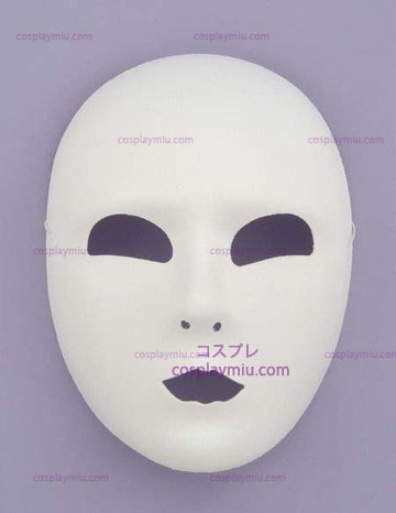 Full Face White Mask