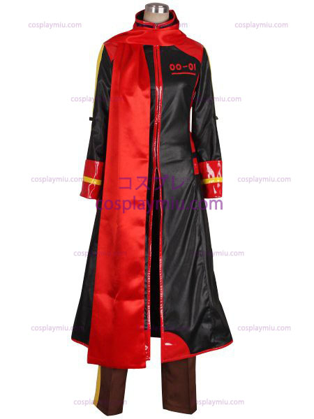 Vocaloid Akaito Red and Black Cosplay Costume