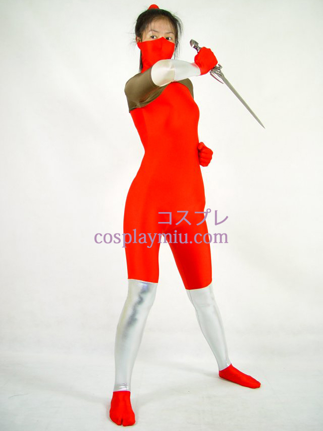Red Lycra Cosplay Costume
