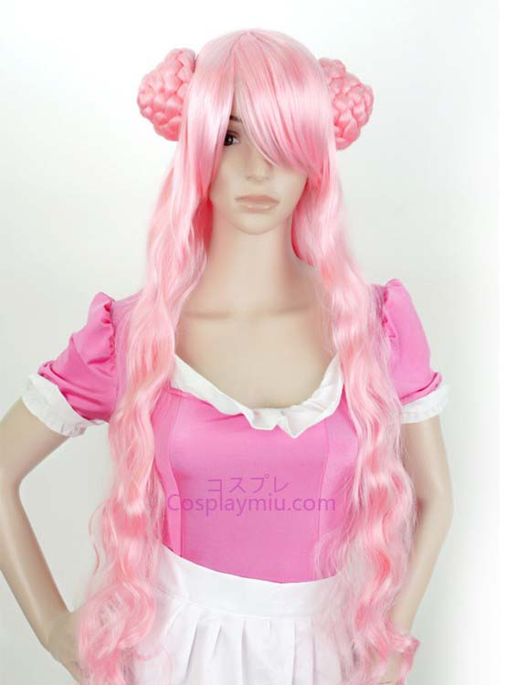 Code Geass Euphemia Pink Long Cosplay Wig