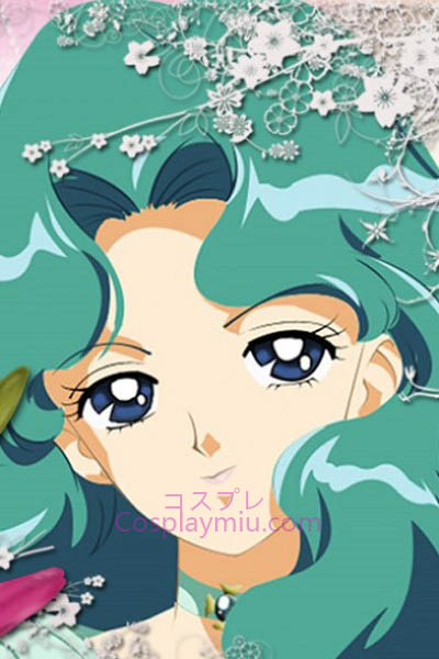 Sailor Moon Kaiou Michiru Sailor Neptune Cosplay Wig