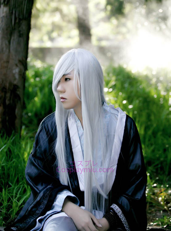 Kuroshitsuji Under Taker Long Cosplay Wig